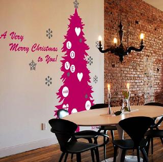 ウォールステッカー クリスマス ツリー シンプル スタイリッシュ 木 tree.png